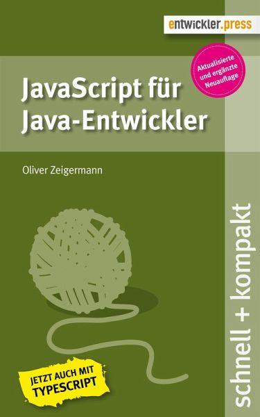 JavaScript für Java-Entwickler (eBook, PDF)