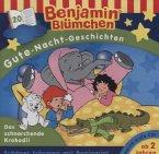 Gute-Nacht-Geschichten - Das schnarchende Krokodil / Benjamin Blümchen Bd.20 (1 Audio-CD)
