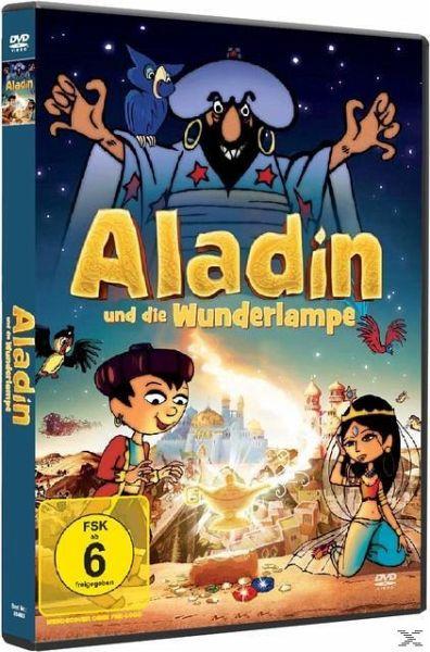aladin und die wunderlampe film auf dvd b. Black Bedroom Furniture Sets. Home Design Ideas