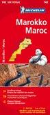Michelin Karte Marokko; Maroc
