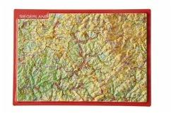 Reliefpostkarte Siegerland