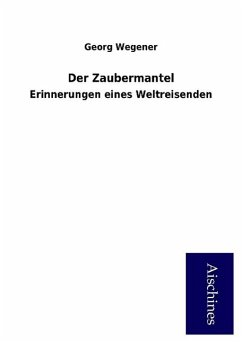 9783958007284 - Wegener, Georg: Der Zaubermantel - Buch