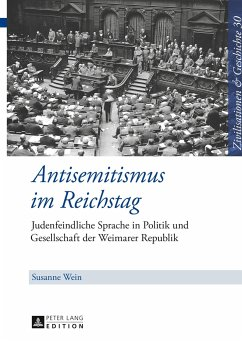 Antisemitismus im Reichstag - Wein, Susanne