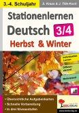 Stationenlernen Deutsch - Herbst & Winter / Klasse 3-4