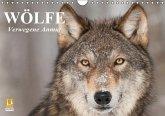 Wölfe. Verwegene Anmut (Wandkalender immerwährend DIN A4 quer)