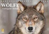 Wölfe. Verwegene Anmut (Tischkalender immerwährend DIN A5 quer)
