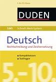 SMS Deutsch - Rechtschreibung und Zeichensetzung 5.-10. Klasse (eBook, ePUB)