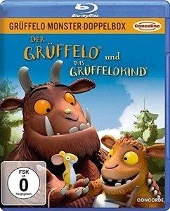 Grüffelo-Monster-Doppelbox - Der Grüffelo und Das Grüffelokind - Grueffelo Monster Box/2bd/Soft