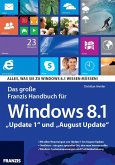 Das große Franzis Handbuch für Windows 8.1 (eBook, PDF)
