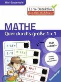 Lern-Detektive - Mini-Zaubertafel: Quer durchs große 1 x 1 (Mängelexemplar)