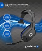 GIOTECK Mono Chat Headset, Wired Mono Kopfhörer mit Mikrofon