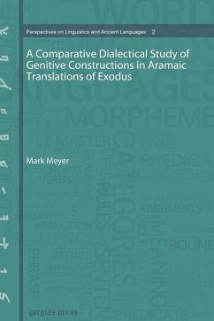 A Comparative Dialectical Study of Genitive Constructions in Aramaic Translations of Exodus