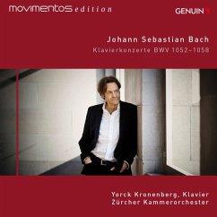 Movimentos Edition: Klavierkonzerte Bwv 1052-1058 - Kronenberg,Yorck