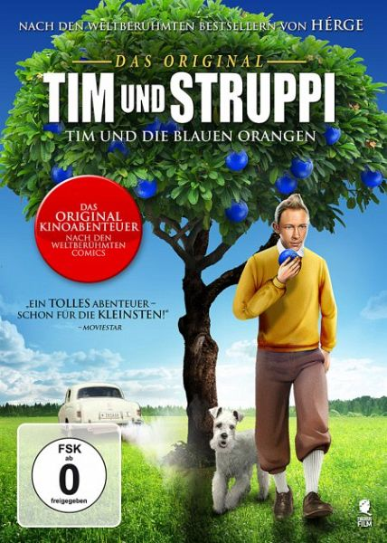 Tim und struppi tim und die blauen orangen auf dvd for Tim malzer die kuche buch