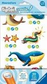 Ravensburger 00909 - tiptoi® create, Stickerbögen Meerestiere