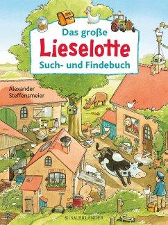 Das große Lieselotte Such- und Findebuch - Steffensmeier, Alexander