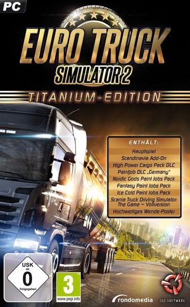 euro truck simulator 2 titanium edition pc spiel. Black Bedroom Furniture Sets. Home Design Ideas