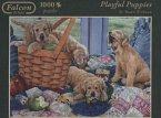 Jumbo 11054 - Falcon - Playful Puppies - 1000 Teile