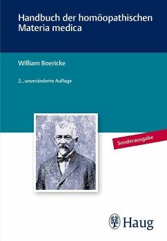 Handbuch der homöopathischen Materia Medica - Boericke, William