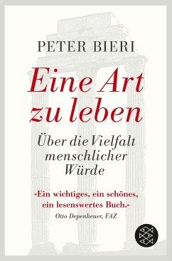 Eine Art zu leben - Bieri, Peter