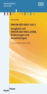 DIN EN ISO 9001:2015 - Vergleich mit DIN EN ISO...