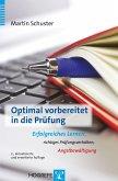 Optimal vorbereitet in die Prüfung (eBook, ePUB)