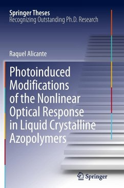 Photoinduced Modifications of the Nonlinear Optical Response in Liquid Crystalline Azopolymers