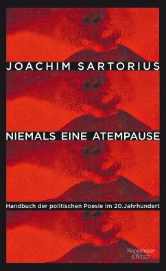 Niemals eine Atempause (eBook, ePUB) - Sartorius, Joachim