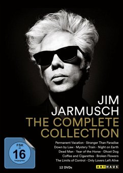 Jim Jarmusch - The Complete Collection DVD-Box - Depp,Johnny/Murray,Bill