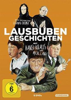 Lausbubengeschichten - Digital Remastered DVD-Box - Kraus,Hansi/Braun,Käthe