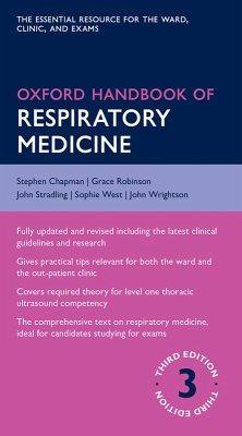 Oxford Handbook of Respiratory Medicine (eBook, PDF) - Chapman, Stephen; Robinson, Grace; Stradling, John; West, Sophie; Wrightson, John