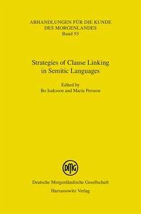Strategies of Clause Linking in Semitic Languages