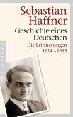 Geschichte eines Deutschen (eBook, ePUB)