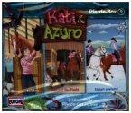 Kati & Azuro - Pferde-Box, 3 Audio-CDs