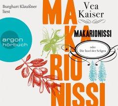Makarionissi oder Die Insel der Seligen, 8 Audio-CDs (Jubiläumsaktion) - Kaiser, Vea