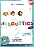 Les Loustics 02. Cahier d'activités + CD Audio - Arbeitsbuch mit Audio-CD