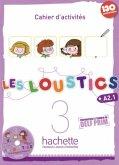 Cahier d'activités mit Audio-CD / Les Loustics Bd.3