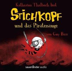 Stichkopf und das Piratenauge / Stichkopf Bd.2 (2 Audio-CDs) - Bass, Guy