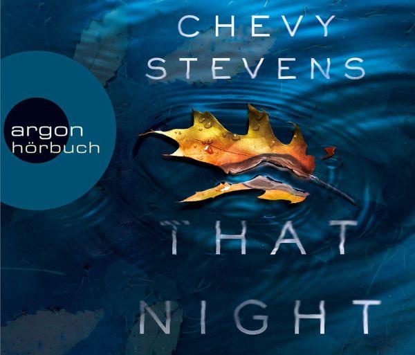 That Night - Schuldig für immer, 6 Audio-CDs - Stevens, Chevy