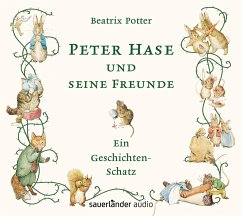Peter Hase und seine Freunde, 1 Audio-CD - Potter, Beatrix