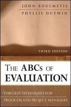 The ABCs of Evaluation (eBook, PDF) - Boulmetis, John; Dutwin, Phyllis