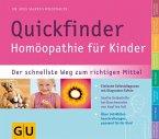Quickfinder Homöopathie für Kinder (Mängelexemplar)