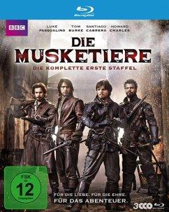 Die Musketiere - Die komplette erste Staffel - Pasqualino,Luke/Charles,Howard/Cabrera,Santiago/+