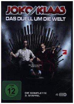 Joko gegen Klaas - Das Duell um die Welt: Die komplette dritte Staffel (4 Discs) - Joko Gegen Klaas-Das Duell Um Die Welt