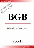 BGB - Bürgerliches Gesetzbuch - Aktueller Stand: 14. Oktober 2014 (eBook, ePUB)