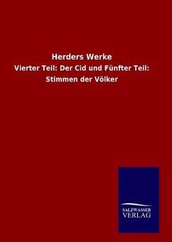 9783846094983 - ohne Autor: Herders Werke - Bok