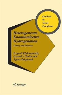Heterogeneous Enantioselective Hydrogenation