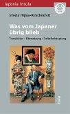 Was vom Japaner übrig blieb (eBook, PDF)