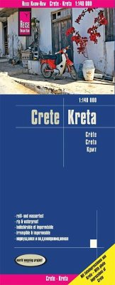 Reise Know-How Landkarte Kreta. Crete. Creta