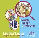 3./4. Jahrgangsstufe, Liederkiste, Audio-CDs / fragen - suchen - entdecken, Neue Ausgabe Bayern